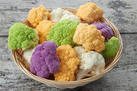 colored cauliflower oven roasted curried cauliflower recipe