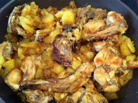 receta de conejo al ajillo  la murciana unarecetacom