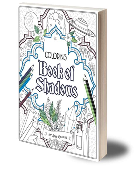 books coloring book  shadows