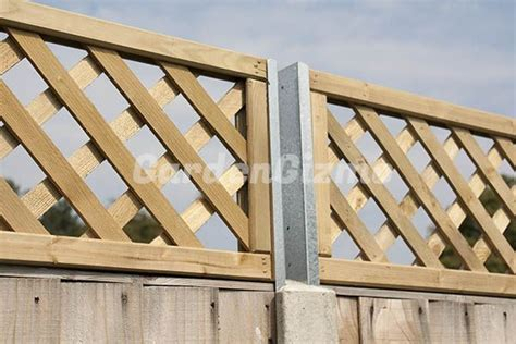 Trellis Fence Extension by Gardengizmo Trellis Fence Extension Attachments Outdoor