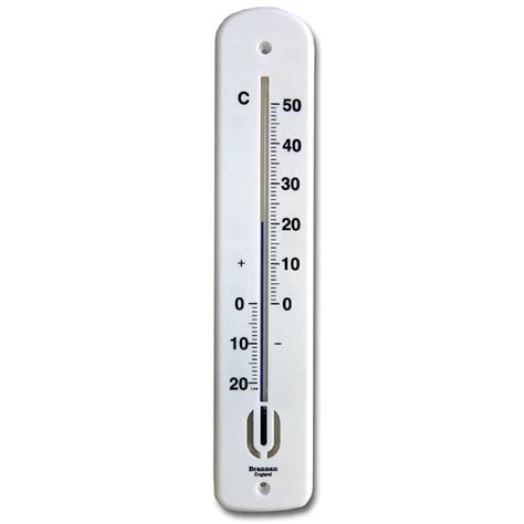 380mm wall thermometer celsius brannan