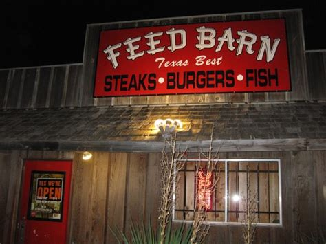 The Feed Barn by The Feed Barn Posts Bryan Menu Prices