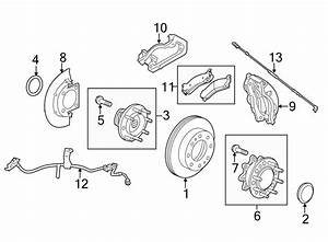 Chevrolet Silverado 2500 Hd Disc Brake Pad Set  Rear  Dual