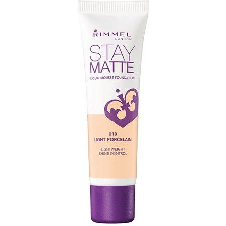 Rimmel Stay Matte rimmel stay matte liquid mousse foundation light