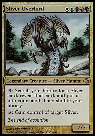 sliver overlord combo aggro multiplayer commander decklists commander edh the mtg