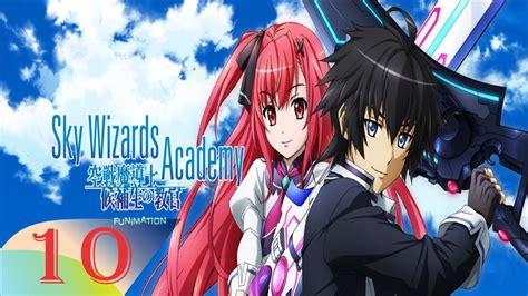 sky wizards academy episode  english dub hd p youtube
