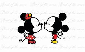 Mickey And Minnie Mouse Kissing - Hot Girls Wallpaper
