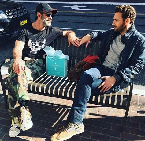 ross marquand instagram the walking dead steven ogg and ross marquand photo via