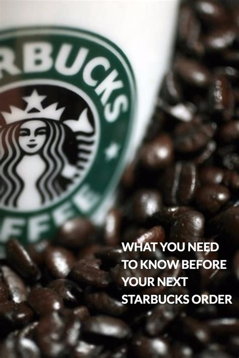 Pick up one of our rare coffees today to experience new flavors. WHAT YOU NEED TO KNOW BEFORE YOUR NEXT STARBUCKS ORDER #coffee #starbucks #tips #secrets | How ...