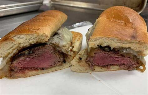 The Old Pink Steak Sandwich is Back! - Step Out Buffalo
