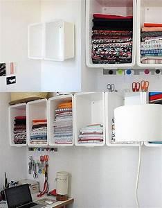 Ikea Kisten Plastik : simple and inexpensive craft room storage diy tech do it yourself upcycle recycle how to craft ~ Frokenaadalensverden.com Haus und Dekorationen
