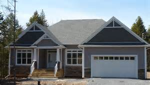 one level homes one level bungalows ranch style homes halifax scotia canada new home construction