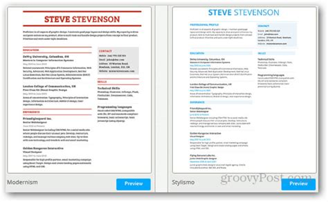 Visually Appealing Resume Template by Resumonk Allows Users To Conveniently Create Professional