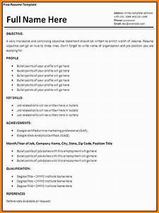 7 job resume format download ms word ledger paper for Job resume template microsoft word