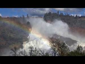 RAW Close UP Footage Northern California DAM Lake Oroville ...