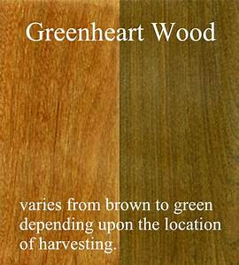 Greenheart Wood: deck materials, dock materials, treated ...