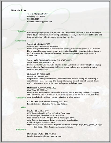 Resume Background by Resume Understated Background Impact Consulting Ideas Pinte