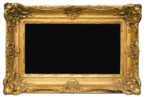 No Frames Picture 3 Piece Modern Cheap Home Decor Wall: PNG Free Frame Gold Download #28919