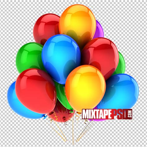 Balloon Template Free Colorful Balloons Template Mixtapepsd