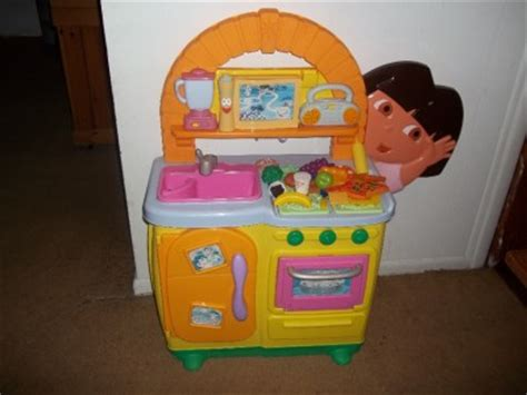 Dora Talking Play Kitchen Pretend Kitchen Comes With Play