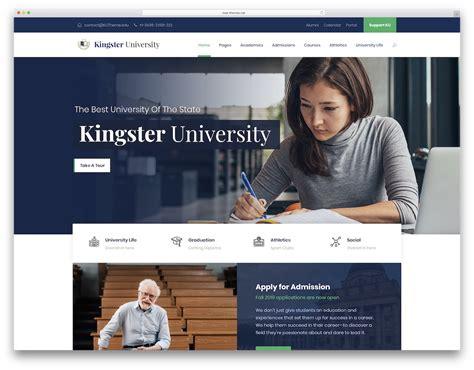 premium education website templates