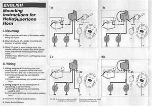 Question  New Horn Wiring Diagram