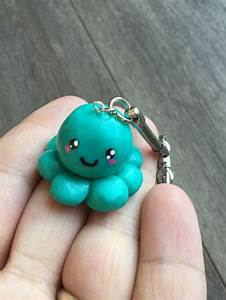 Tuto Pate Fimo : key kawaii polymer clay octopus fimo tuto porte cl ~ Dode.kayakingforconservation.com Idées de Décoration