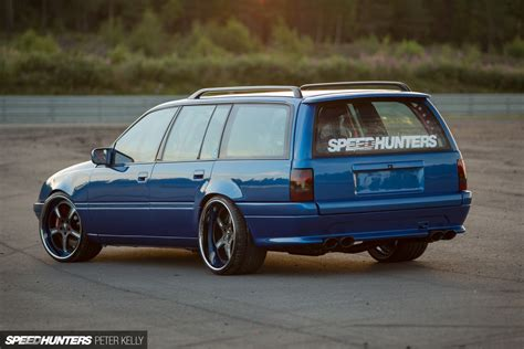 Opel Wagon by Fear For The Family A Lotus Powered Opel Wagon Speedhunters