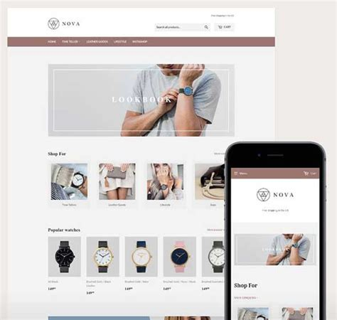 shopify website templates 21 best free shopify themes for ecommerce websites