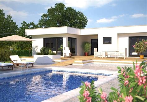 Moderne Häuser Mit Terrasse by Bungalow Hanlo Hommage 172 Moderner Winkelbungalow Mit