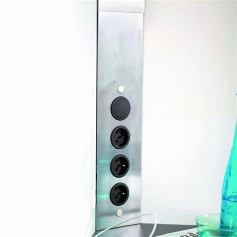 multiprise cuisine multiprise cuisine bloc 3 prises d 39 angle avec interrupteur