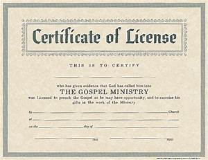 parchment archives bh publishing group With minister license certificate template