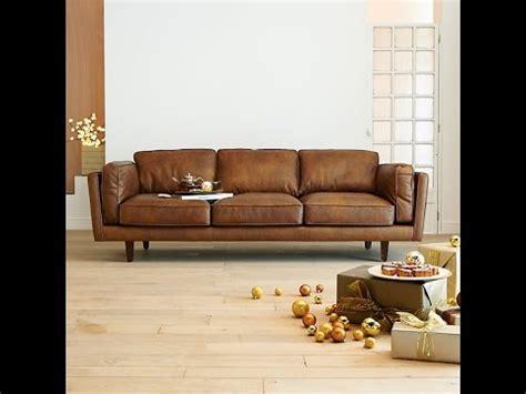 canapé cuire choisir un canapé cuir design pour le salon