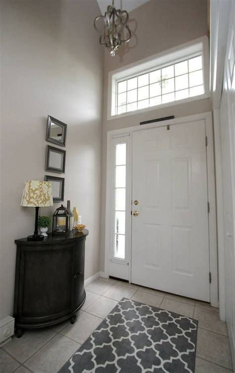 entry way in town house wall color litchfield gray by