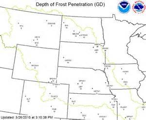 frost depth