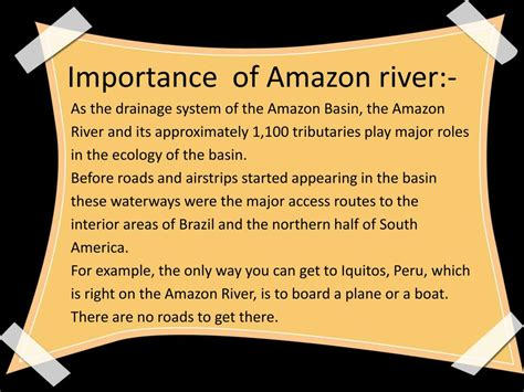 Ppt Amazon River Powerpoint Presentation Free Download