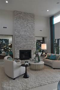 contemporary living room with floor to ceiling light grey With feel the contemporary living room