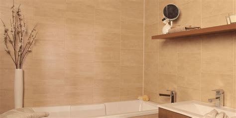 Plastic Bathroom Panels  The Fantastic Tile Alternative
