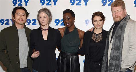 Эндрю линкольн, стивен ян, чандлер риггс и др. 'The Walking Dead' Cast Tease Midseason: 'Most Dark, Scary ...