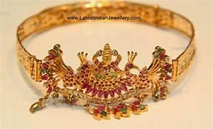 Latest Gold Baju Bandh Design