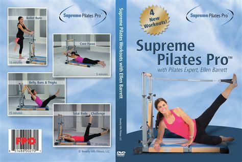 supreme pilates 4 workout compilation featuring barrett spp stt