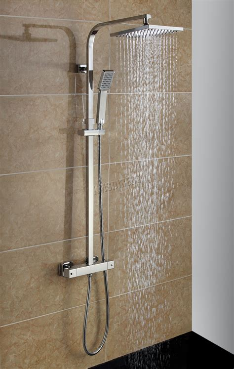 bathroom shower heads foxhunter bathroom mixer shower set square