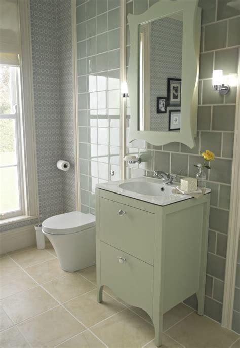 victorianedwardian style unit  soft grey tiles