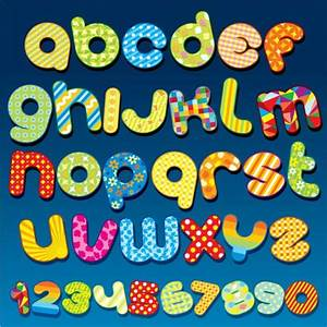 cute designs letters graphics collection my free With letter bubble pop
