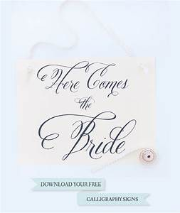 free wedding signs With downloadable wedding signs