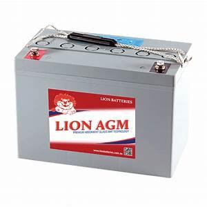 Batterie Agm Camping Car : lion 12v 120ah agm deep cycle battery caravan rv camping ~ Medecine-chirurgie-esthetiques.com Avis de Voitures