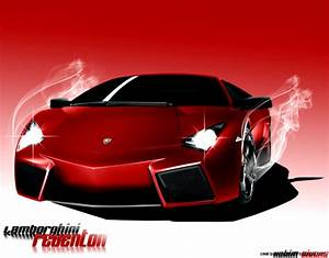 Red Lamborghini Reventon Wallpaper | Wallpapers Gallery