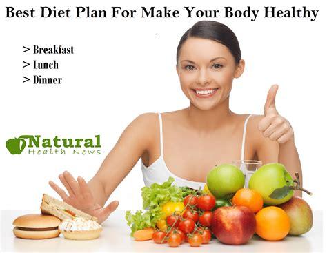 Best Health News Best Diet Plan For Make Your Healthy Diet Plans