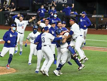 Dodgers Series Win Angeles Los Season Championship
