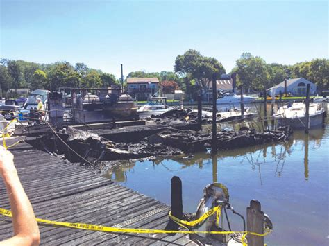 Patchogue Shores Boats by Flames Consume Boats In East Patchogue Firenews